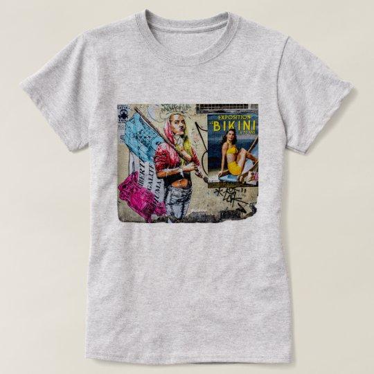 Liberté égalité humanité T-Shirt
