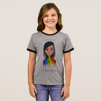 Liberte its creativity ringer T-Shirt