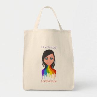 Liberte its creativity tote bag