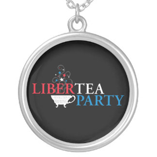 Libertea Party Silver Plated Necklace