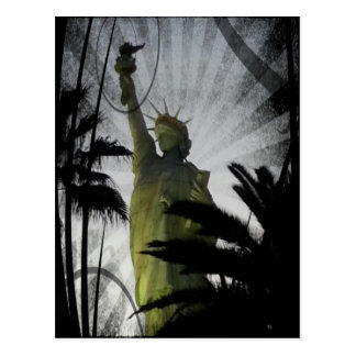 Liberty and Freedom Postcard
