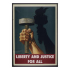 Liberty and Justice for All - Pro-Union Poster