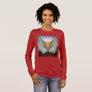 Liberty And Justice Long Sleeve T-Shirt