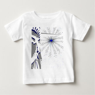 Liberty And Sky Rocket Baby T-Shirt