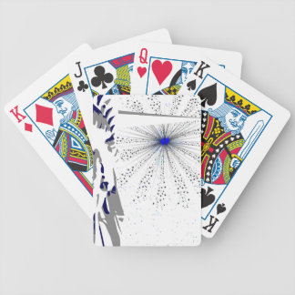 Liberty And Sky Rocket Bicycle Playing Cards