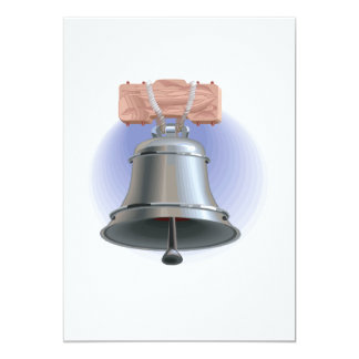 "Liberty Bell 5"" X 7"" Invitation Card"