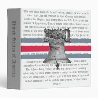 Liberty Bell and Declaration Binder