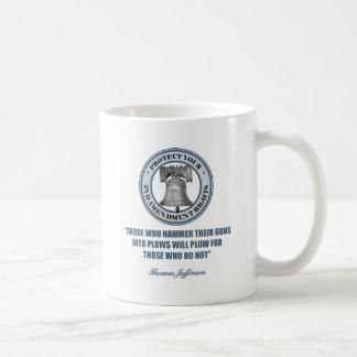 Liberty Bell -Jefferson 2nd Amendment Quote Coffee Mug