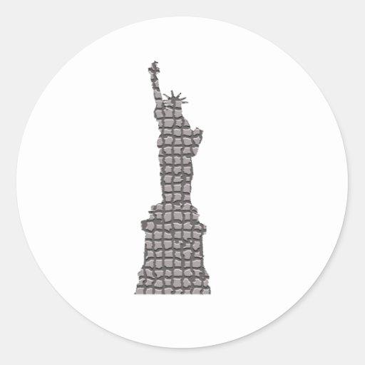 Liberty by blocks stickers