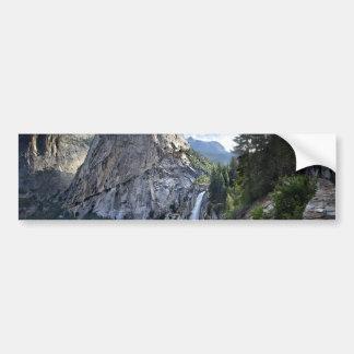 Liberty Cap and Nevada Fall - John Muir Trail Bumper Sticker