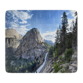 Liberty Cap and Nevada Fall - John Muir Trail Cutting Board