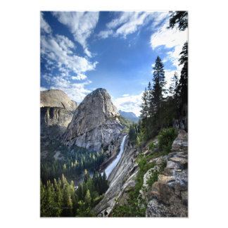 Liberty Cap and Nevada Fall - John Muir Trail Photo Print