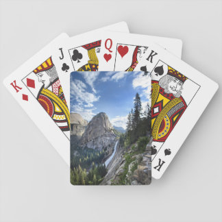 Liberty Cap and Nevada Fall - John Muir Trail Playing Cards