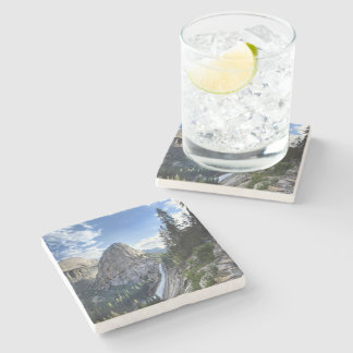 Liberty Cap and Nevada Fall - John Muir Trail Stone Coaster