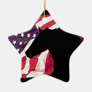 Liberty Ceramic Ornament