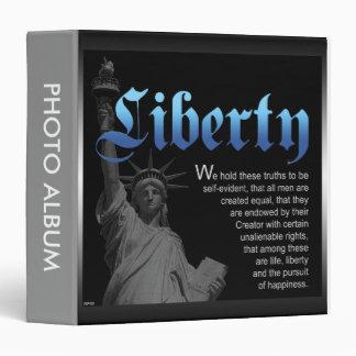Liberty Declared 3 Ring Binder