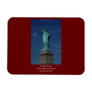 Liberty Enlightening the World - Statue of Liberty Rectangular Photo Magnet
