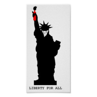 Liberty For All Poster