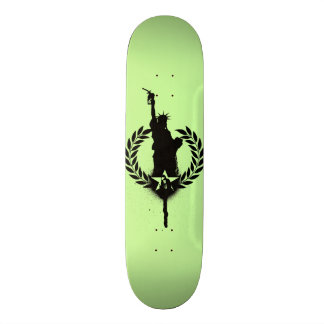 """""""Liberty For Oil"""" Consume Skate Deck"""