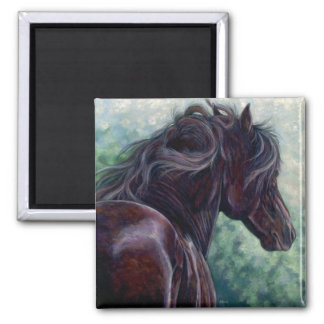 Liberty -  Friesian Horse Magnet