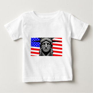 Liberty Head Over Flag Baby T-Shirt