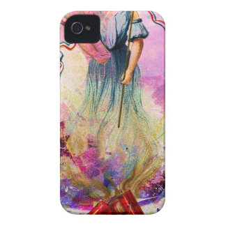 LIBERTY ~ INDEPENDENCE ~ FREEDOM ISN'T FREE Case-Mate iPhone 4 CASE