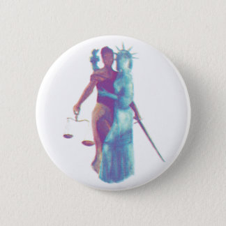 Liberty & Justice For All 2 Inch Round Button