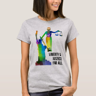 Liberty & Justice For All Shirt