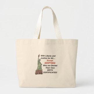 Liberty & Justice Large Tote Bag