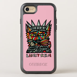 """Liberty Kat"" Apple & Samsung Otterbox Case"
