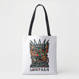 Liberty Kat BuddaKats All- Over Tote Bag
