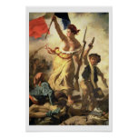 Liberty Leading the People, 28 July 1830 (oil on c Poster
