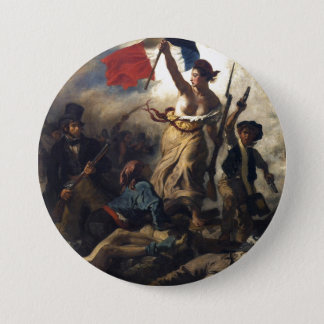 Liberty Leading the People 3 Inch Round Button
