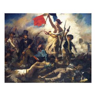 Liberty Leading the People by Eugène Delacroix Photo