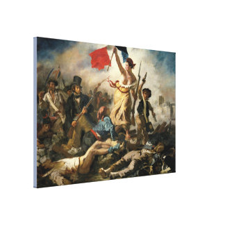 Liberty Leading the People Canvas Print