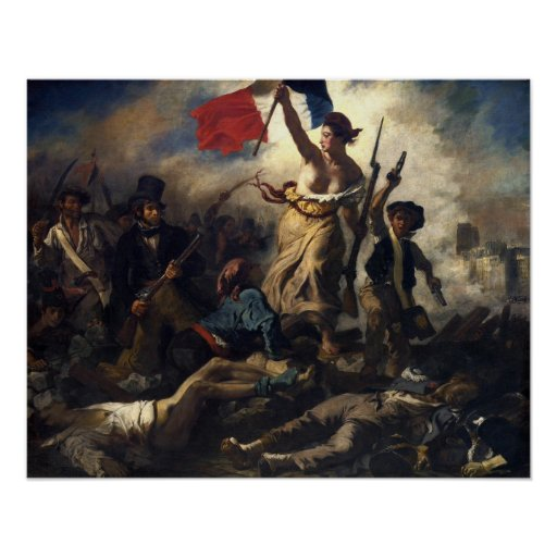 Liberty Leading the People Poster