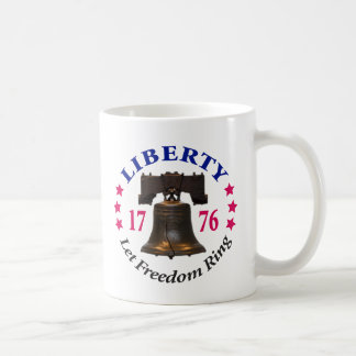Liberty - Let Freedom Ring Coffee Mug