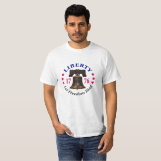 Liberty - Let Freedom Ring Value T-shirt