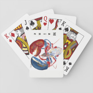 Liberty Lobster Playing Cards