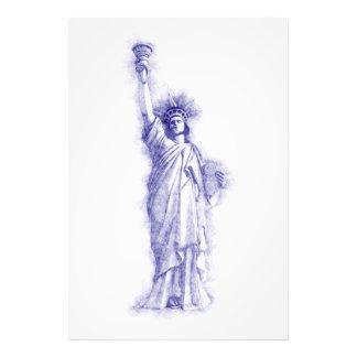 Liberty, New York, Manhattan, the USA, America Photo Print