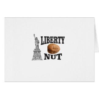 liberty nut card