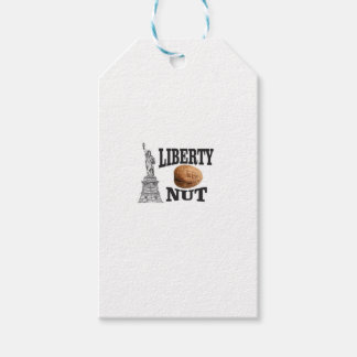 liberty nut gift tags