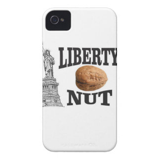 liberty nut iPhone 4 Case-Mate case