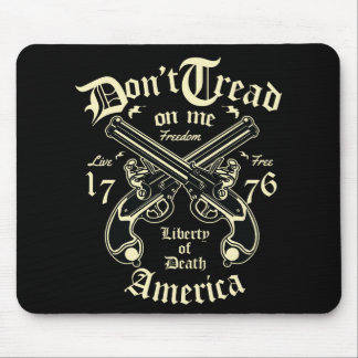 Liberty Of Death USA live free Mouse Pad