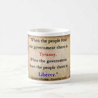 Liberty Over Tyranny Coffee Mug