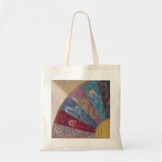 Liberty Peacock Quilt Tote Bag