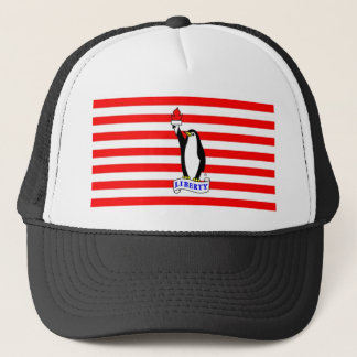 Liberty Penguin Flag Hat