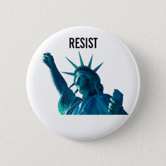 Liberty Resists 2 Inch Round Button