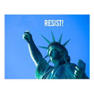 Liberty Resists Postcard