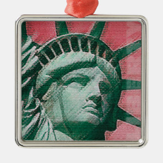 Liberty Rising Metal Ornament